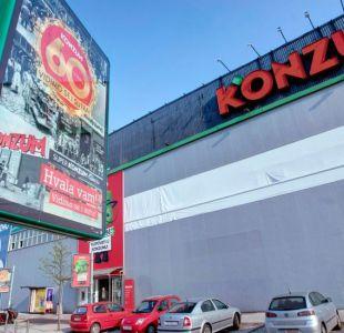 Croacia, el país que puede entrar en crisis por la quiebra de una cadena de supermercados