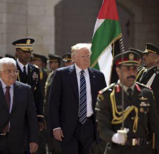 Trump dispuesto a hacer todo para un acuerdo de paz entre israelíes y palestinos