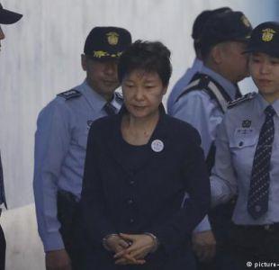 La expresidenta surcoreana defiende su inocencia al inicio de su juicio