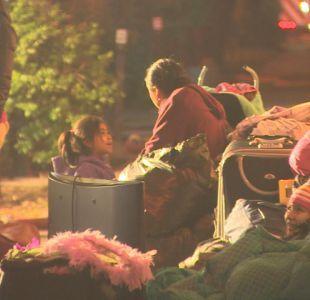 [VIDEO] Inmigrantes quedan en la calle tras incendio en cité del centro de Santiago