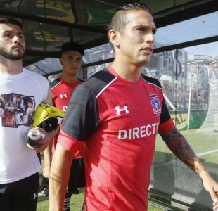 "Representante asegura que Mark González ""aún tiene contrato vigente"" con Colo Colo"