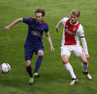 [Minuto a Minuto] Manchester United está venciendo a Ajax en la final de la Europa League
