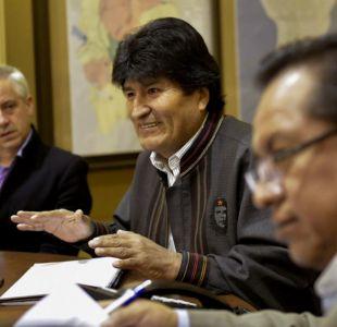"""Evo Morales califica huelga de Aduanas como """"una agresión económica"""""""