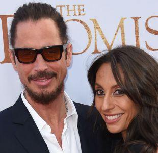 El fallecido Chris Cornell y su esposa Vicky