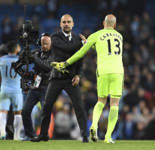 Claudio Bravo tendrá nuevo compañero: Manchester City confirma salida del portero Willy Caballero