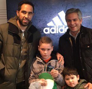 """Claudio Bravo le desea """"lo mejor"""" a Sampaoli y  le gustaría ver a Alexis Sánchez en el City"""