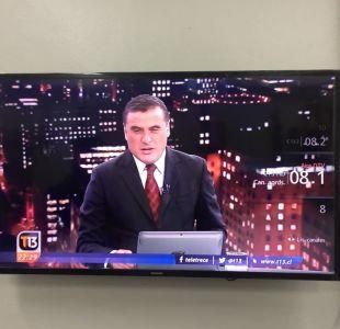 Canal 13 ya transmite en Televisión Digital Terrestre en regiones