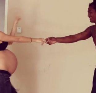 La embarazada que se volvió viral bailando en Instagram