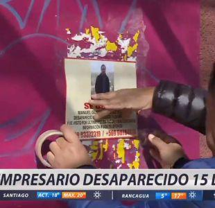 Hombre desaparecido hace 15 días