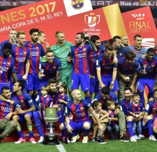 Barcelona derrota al Alavés y se corona campeón de la Copa del Rey