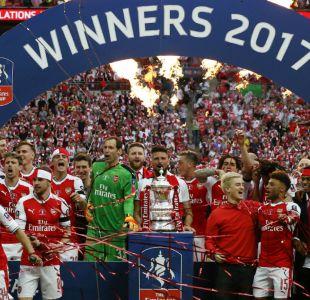 Arsenal es el equipo más ganador en la historia de la Copa FA