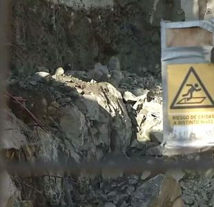 [VIDEO] Valparaíso: Graves daños por tronaduras