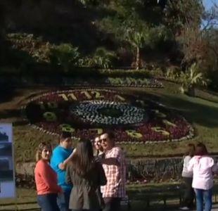 Reloj de flores estaría listo para celebrar el Día del Patrimonio