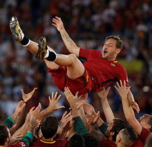 [FOTOS] Las postales de la emocionante despedida de Francesco Totti