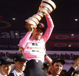Holandés Tom Dumoulin conquista su primer título del Giro de Italia
