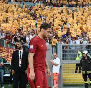 Francesco Totti y su retiro: No estoy preparado y no lo estaré nunca