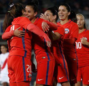 [FOTOS] Las mejores imágenes de la súper goleada de La Roja femenina ante Perú