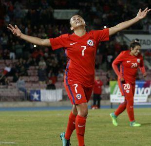 Selección chilena femenina le propina goleada histórica a Perú en el Nacional