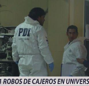 [VIDEO] Violentos robos en universidades