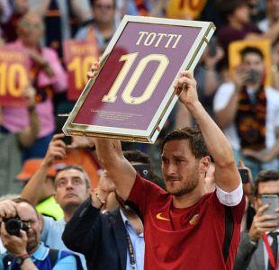 La despedida de Francesco Totti de la Roma y los 5 futbolistas que nunca cambiaron de equipo