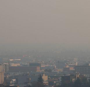 Intendencia Metropolitana decreta alerta ambiental para este miércoles