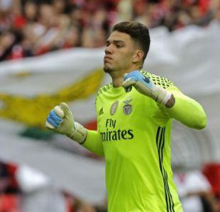 Claudio Bravo tiene competencia: Manchester City ficha a arquero brasileño del Benfica