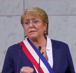 Michelle Bachelet obtiene un 18% de aprobación en encuesta CEP