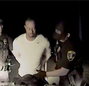 [VIDEO] Las imágenes de la detención de un desorientado Tiger Woods