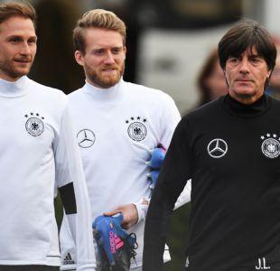 """DT de Alemania defiende ir con equipo """"B"""" a la Confederaciones por alta carga de partidos"""