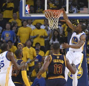Golden State Warriors vencen a Cleveland Cavaliers en la primera final de la NBA