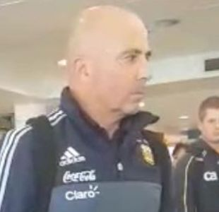 [VIDEO] El fugaz regreso a Chile de Jorge Sampaoli a la cabeza de la selección argentina