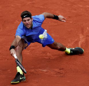 Del Potro es duda para jugar Roland Garros por lesión