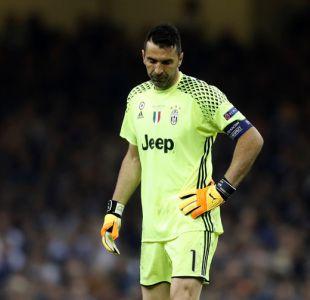 [FOTOS] La amargura de Buffon tras perder una nueva final de la Champions League