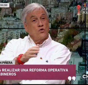 Sebastián Piñera cuenta cuáles serían sus primeras medidas a implementar en posible gobierno