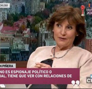 La impresión de Piñera en el caso de espionaje en la Sofofa