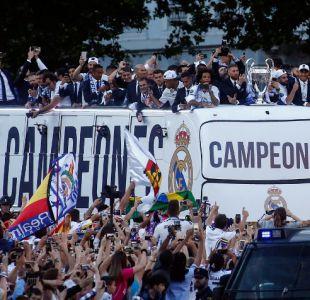 [FOTOS] Los festejos del Real Madrid en España por el título de Champions League
