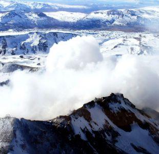 Decretan alerta amarilla en Volcán Copahue
