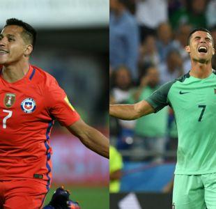 [VIDEO] Alexis Sánchez y Cristiano Ronaldo quieren la Copa Confederaciones