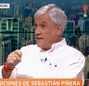 Piñera por espionaje en la Sofofa: Tiene que ver con relaciones de pareja