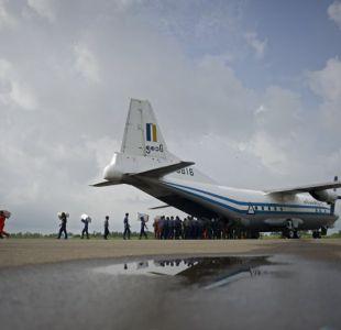 Myanmar: hallan restos del avión siniestrado