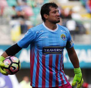 Nicolás Peric podría defender el arco de Colo Colo el próximo semestre