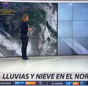 [VIDEO] Lluvias en el norte: Revisa el informe del tiempo de Michelle Adam