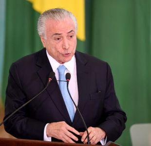 Presidente de Brasil: Mercosur recibirá a Venezuela de vuelta de brazos abiertos