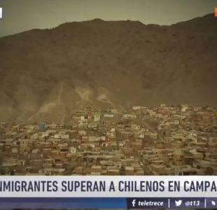 [VIDEO] Reportajes T13: Cerro de inmigrantes