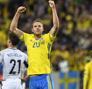Suecia vence en la agonía a Francia y le arrebata el liderato camino a Rusia 2018