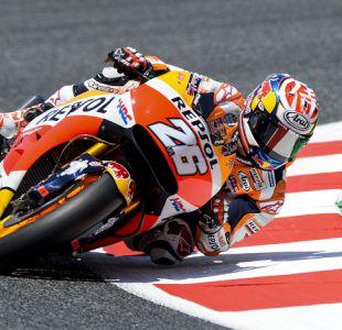 Dani Pedrosa logra la 'pole position' en el Gran Premio de Cataluña del MotoGP