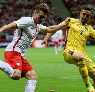 Próximo rival de Chile: Rumania pierde ante Polonia en clasificatorias europeas
