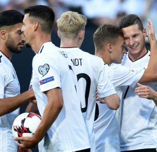 Alemania aplasta a San Marino en su último duelo antes de la Copa Confederaciones