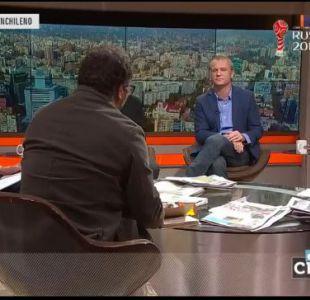 Felipe Kast responde cuestionamientos de panelistas