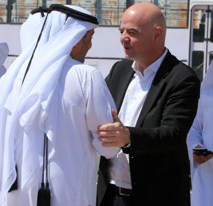 Infantino confiado ante Mundial 2022 pese a compleja situación diplomática en Qatar